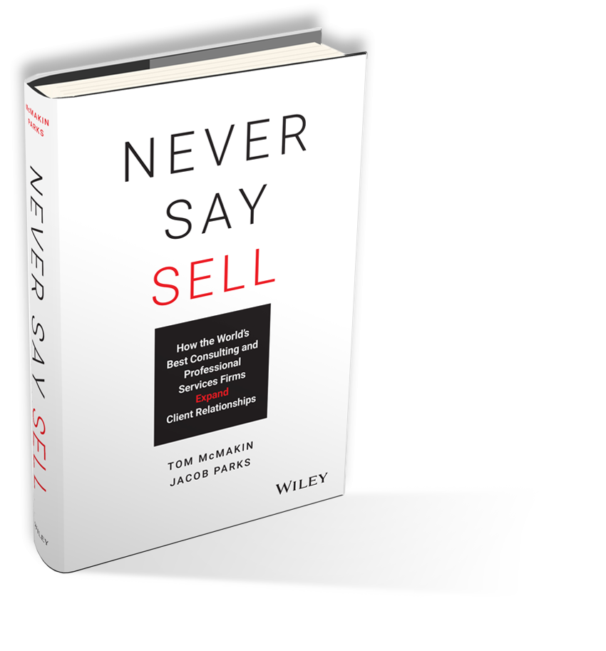 Image of Never Say Sell Book