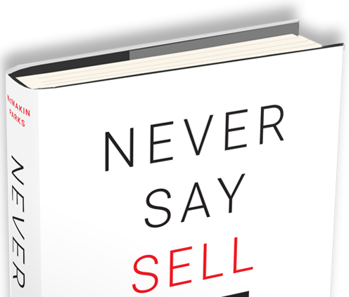 Never Say Sell Book Cover